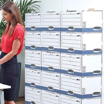 Archivboxen und Ablagesysteme