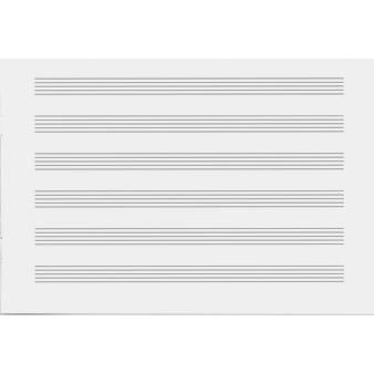 Musik- und Notenheft
