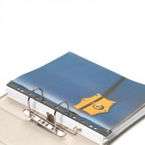 Ordnungsschiene mit Abheftleiste (Magazin-Bind)
