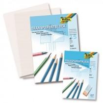 Transparentpapierblock