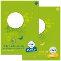 Ursus® Green Schularbeitenhefte A4