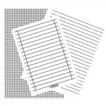 Linienblätter