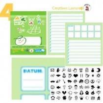 Timmy Creatives Lernen 4 - Set mit Würfeln
