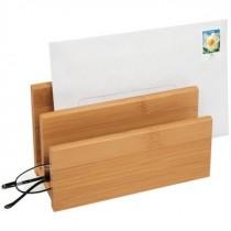 Bambus Briefständer