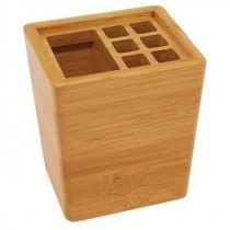 Bambus Schreibtisch-Köcher