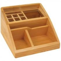 Bambus Schreibtisch-Butler
