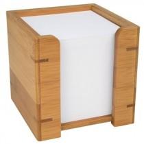 Bambus Zettelbox